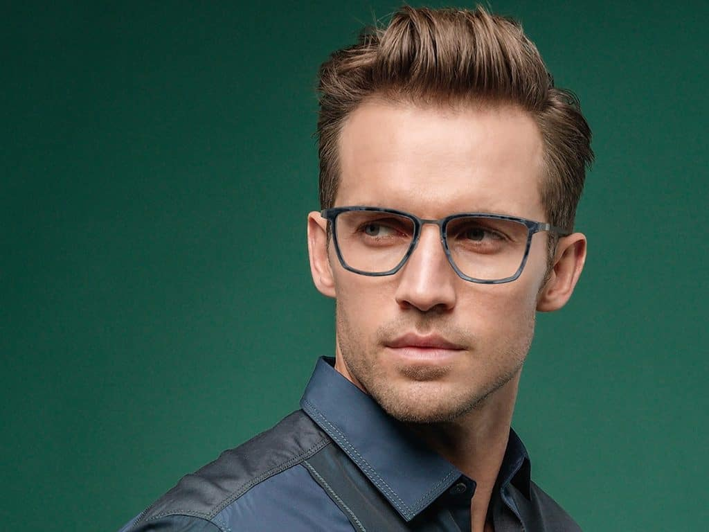 male-model-witn-glasses-green-background
